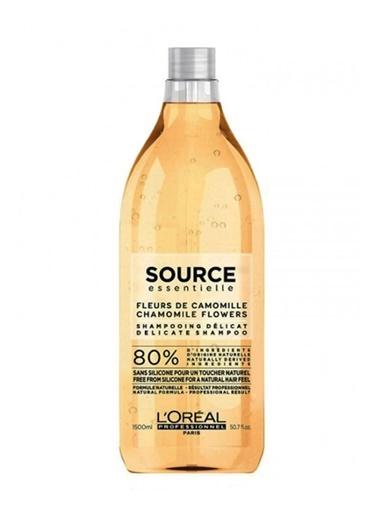 L'oreal Professionnel Professionel Source Essentiel Hassas Baş Derisi ve Tüm Saçlar ıçin şampuan 1000 ml Renksiz